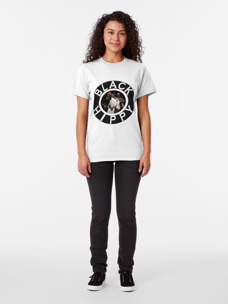Alternative Ansicht von Schwarze Hippie Classic T-Shirt