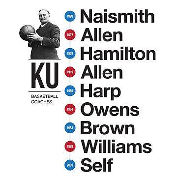 History of KU Basketball Coaches by phoneticwear