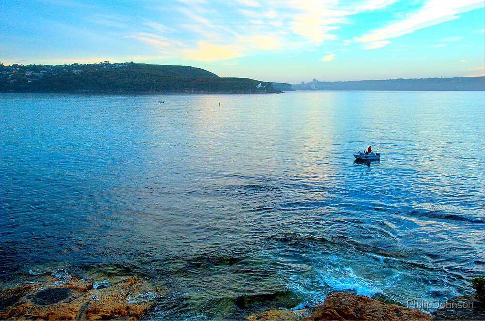 Solitary - Balmoral Beach - The HDR Series by Philip Johnson
