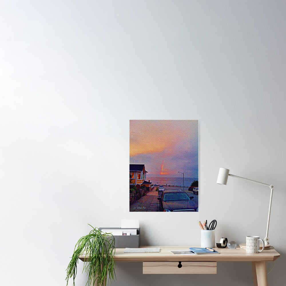 Sunrise in Pacific Grove Poster