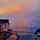 Sunrise in Pacific Grove by photorolandi