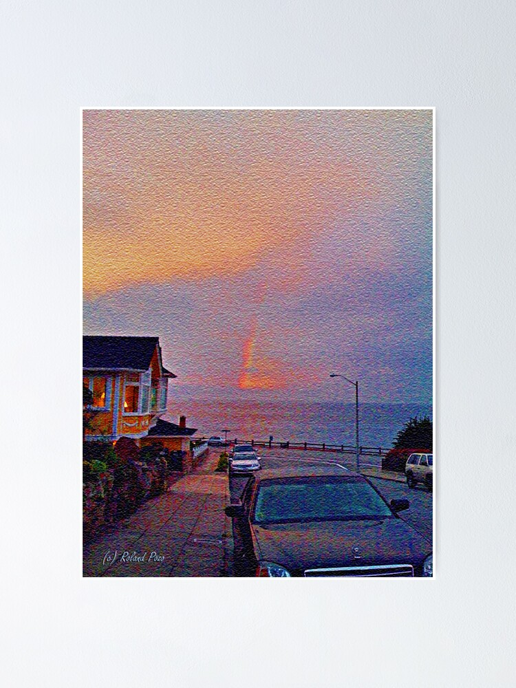 Alternate view of Sunrise in Pacific Grove Poster