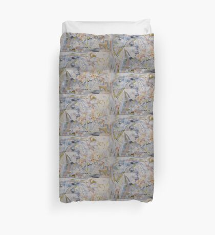 The Point of Confluence 6 Duvet Cover