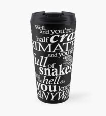 Crazy Primate (2) Travel Mug