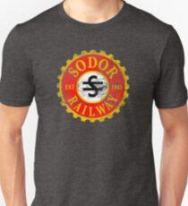 Sodor Railway Logo - Distressed Unisex T-Shirt