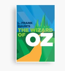 The Wizard of Oz Cover Metal Print
