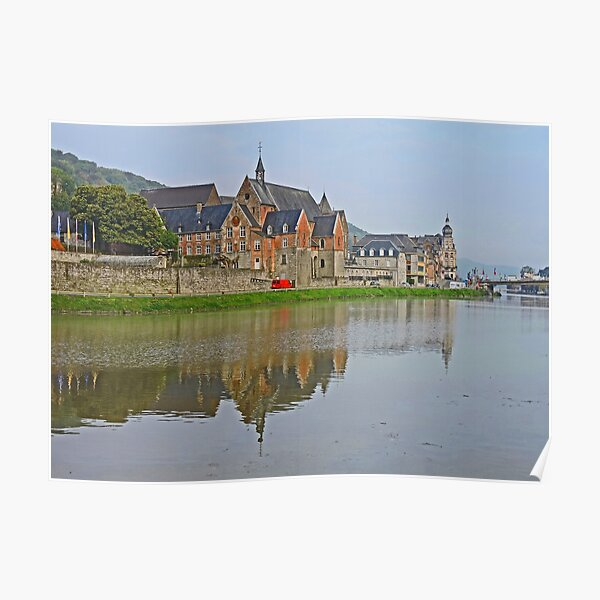 The Meuse at Dinant Poster