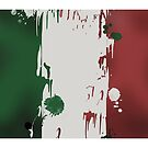Italian Flag by yvonne willemsen