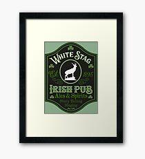 Irish Pub Sign Framed Print
