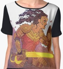 Wonder Warrior Women's Chiffon Top