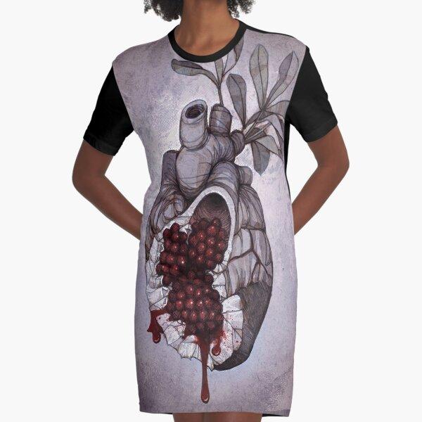 Heart of Persephone Graphic T-Shirt Dress