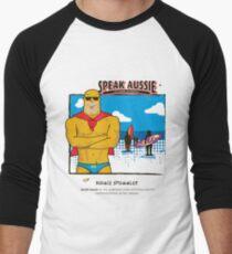 Budgie Smuggler Men's Baseball ¾ T-Shirt