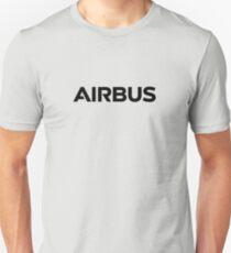 airbus black logo Unisex T-Shirt