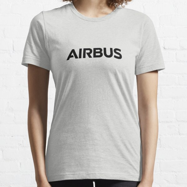 airbus black logo Essential T-Shirt