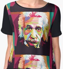 Colorful Einstein Women's Chiffon Top