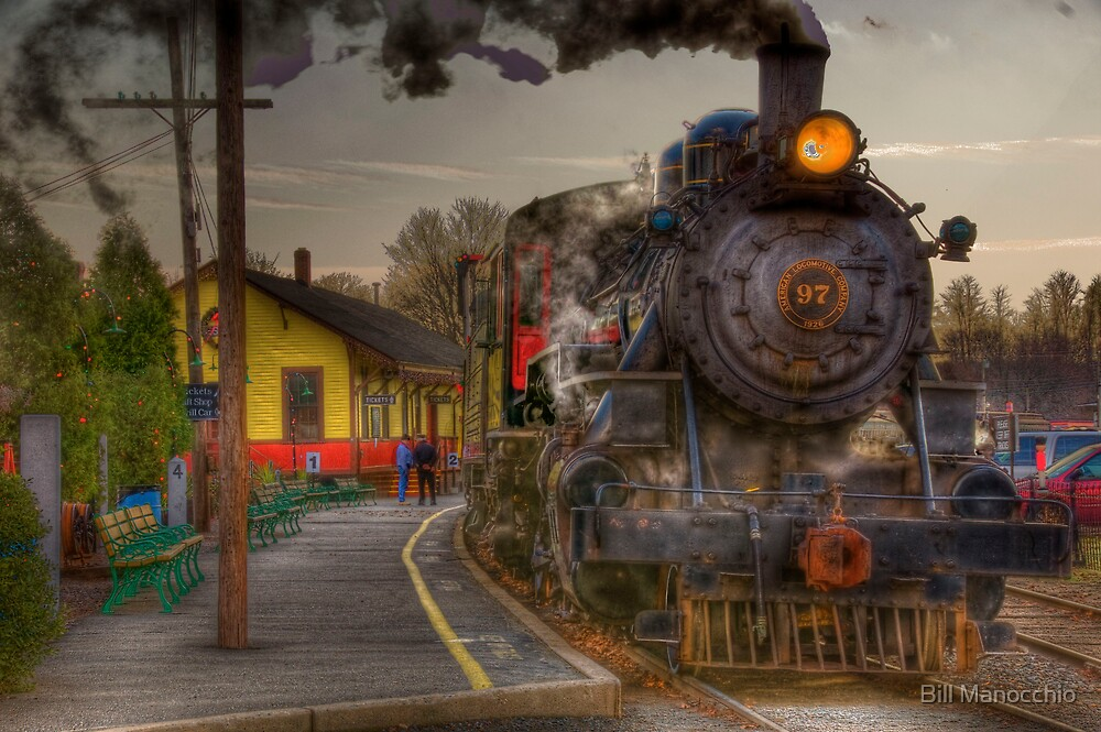 leaving the station by Bill Manocchio