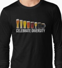 Funny Celebrate Diversity Craft Beer Shirt T-Shirt