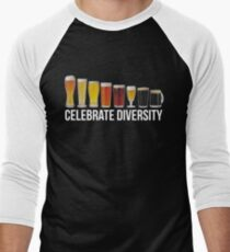 Funny Celebrate Diversity Craft Beer Shirt T-Shirt