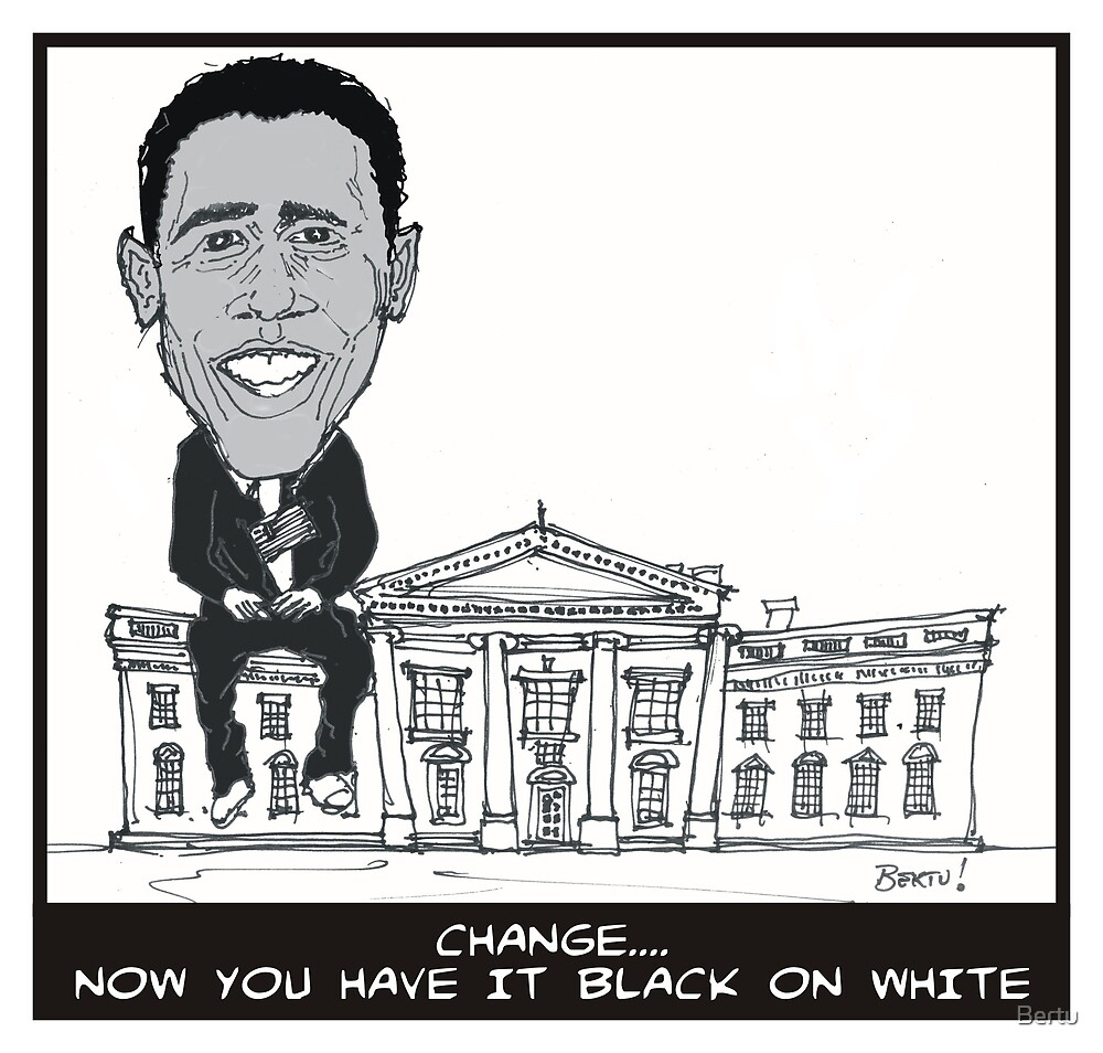 Change: Now You Have It Black On White by Bertu