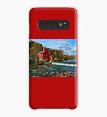 The Historic Red Mill of Clinton NJ Case/Skin for Samsung Galaxy
