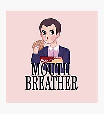 Mouth Breather Photographic Print