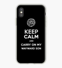 Keep Calm - Devil's Trap iPhone Case