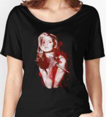 Splatter Buffy Women's Relaxed Fit T-Shirt