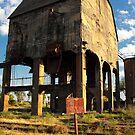 The coal storehouse. by Francisco Larrea