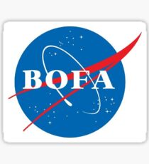 NASA bofa  Sticker