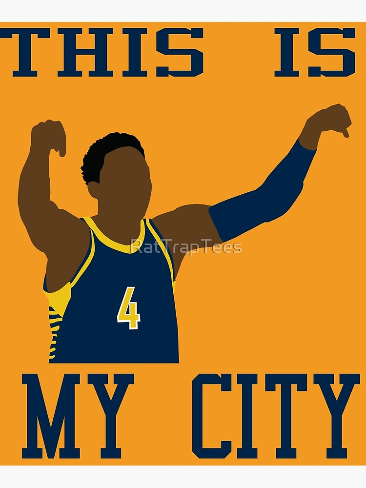 save off 02240 d754f Victor Oladipo This is My City | Poster