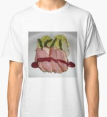 Stake and vegetables. Classic T-Shirt