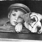 Dickey Moore and Petey by David J. Vanderpool