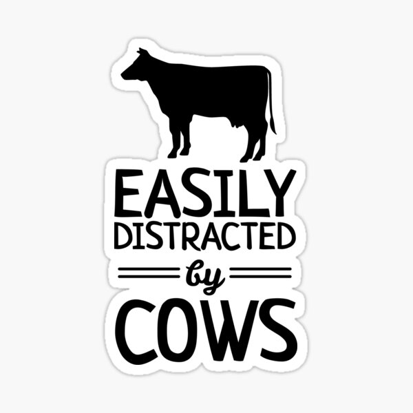"SHORTHORN Street Decal cow cattle beef farmer farm �7/"" Wide Indoor//Outdoor"