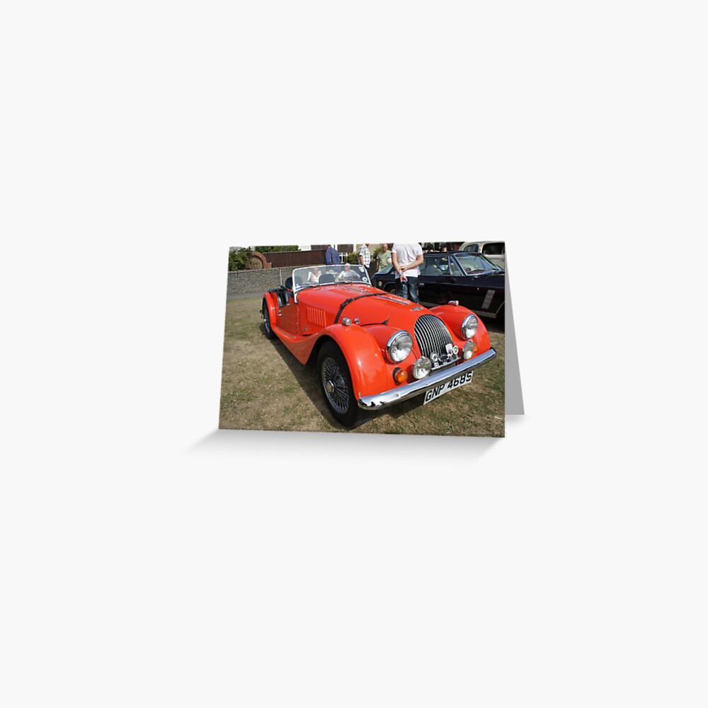 Morgan Vintage Car Greeting Card