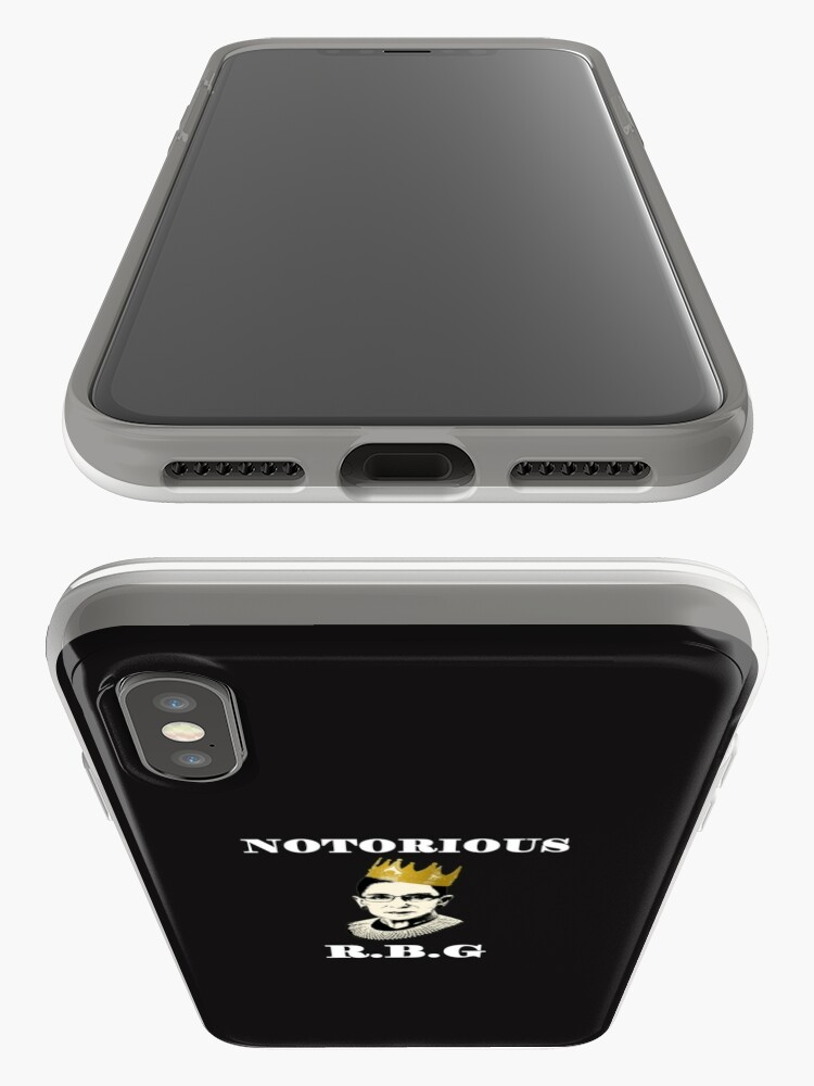 Alternate view of Notorious RBG iPhone Cases & Covers