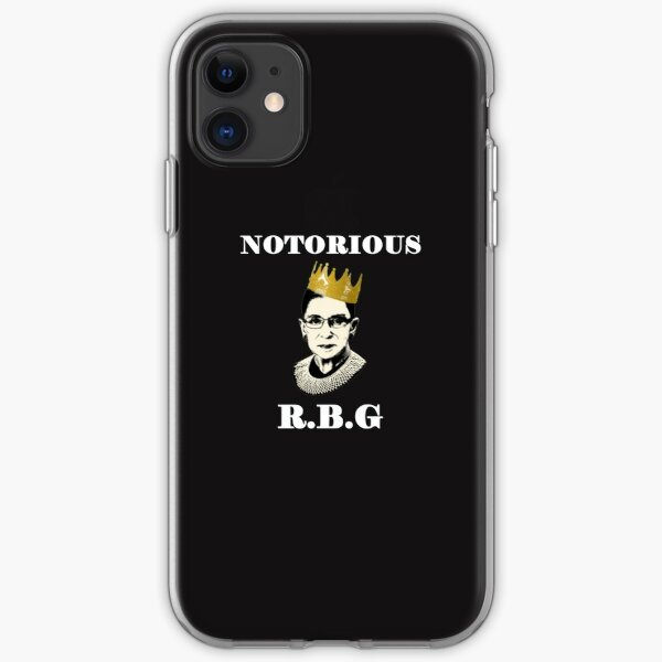 Notorische RBG iPhone Flexible Hülle