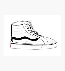 High Top Vans Photographic Print