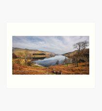 Panorama of Haweswater - Cumbria Art Print