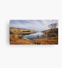 Panorama of Haweswater - Cumbria Canvas Print