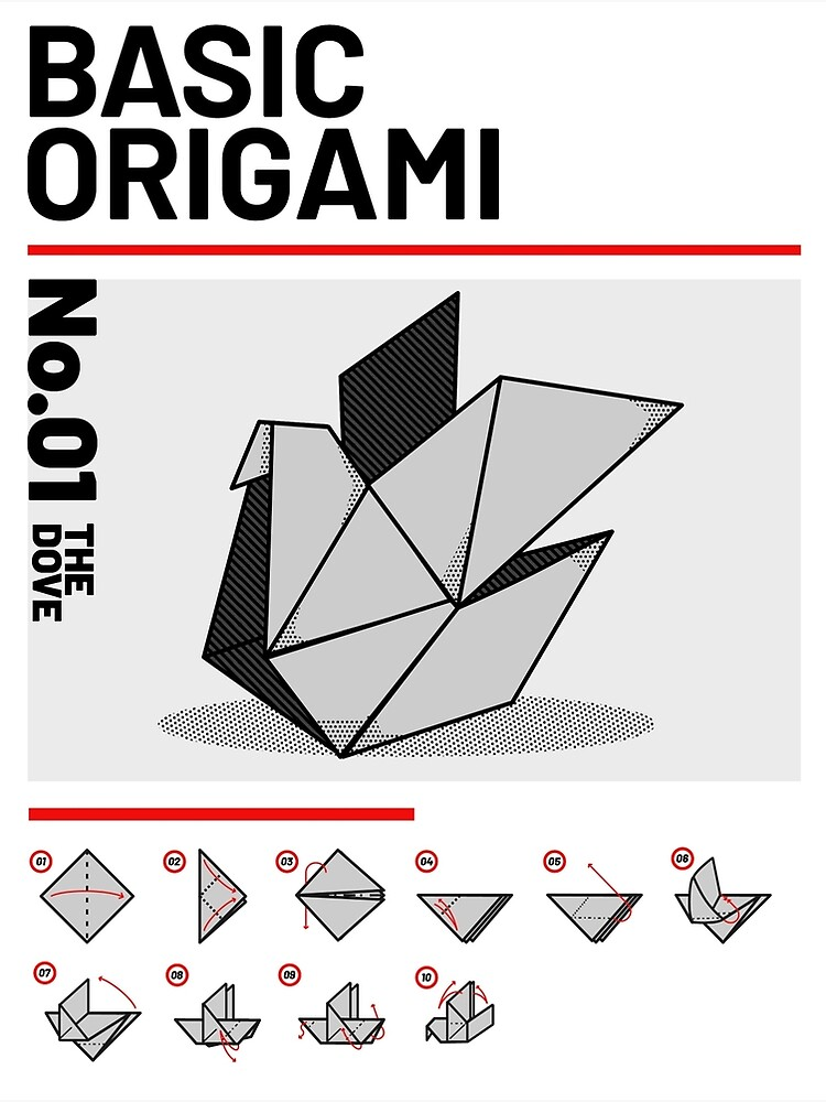 Origami Pigeon for Kids: 2 Easy Step by Step Versions | 1000x750