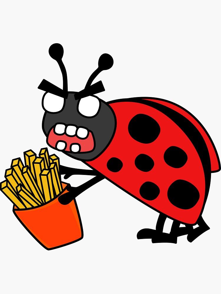 angry zombie ladybug  by shortstack