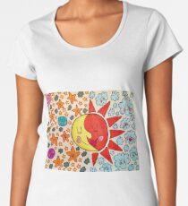 Sun and Moon Women's Premium T-Shirt