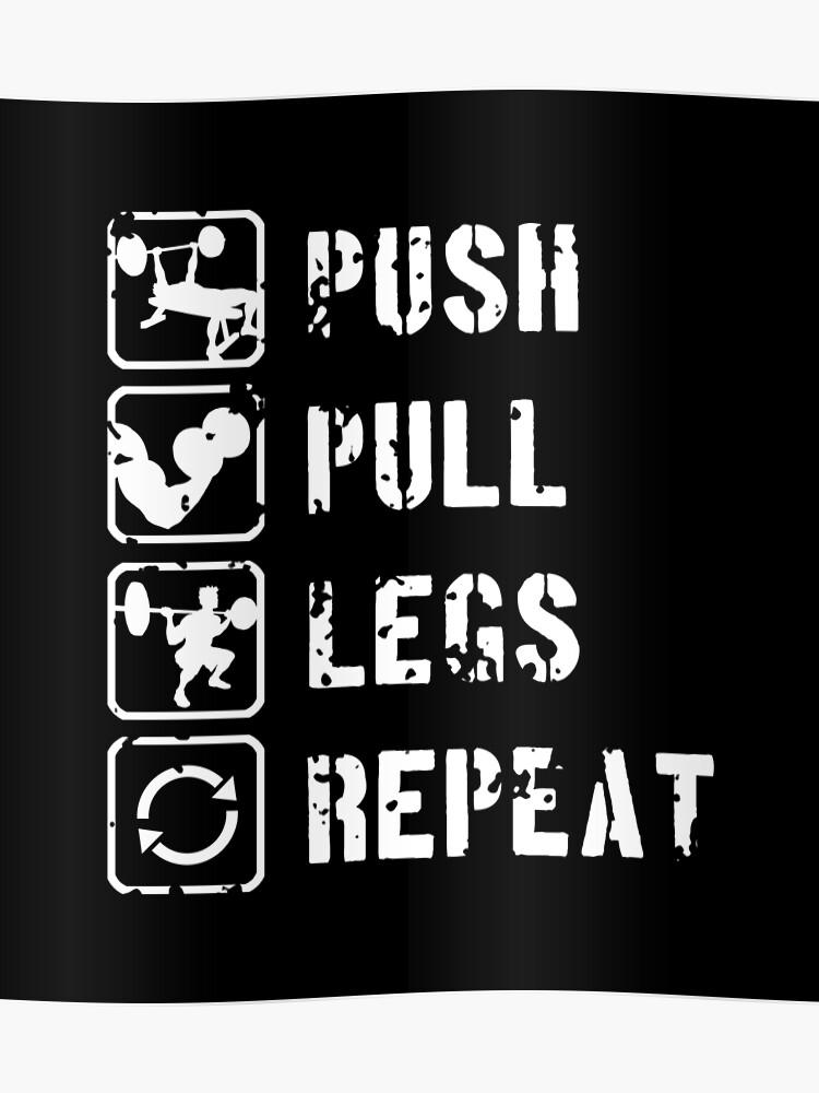 push pull beine