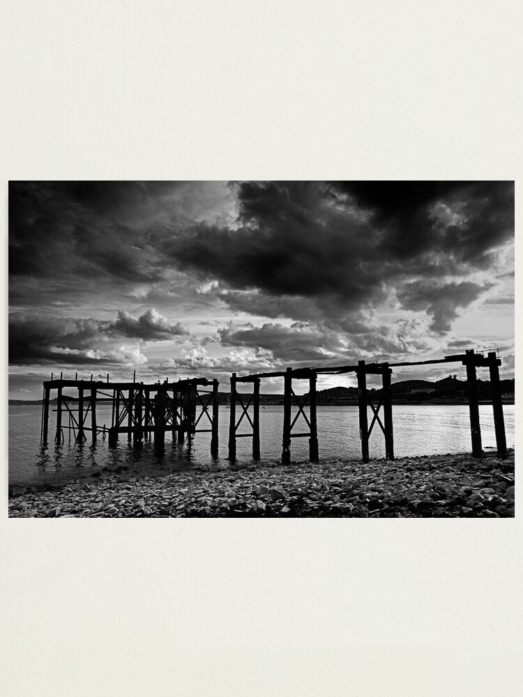 Alternate view of Aberdour Pier Photographic Print