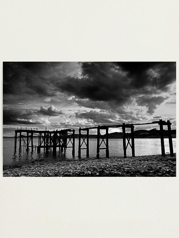 Alternate view of Aberdour Pier Photographic Print