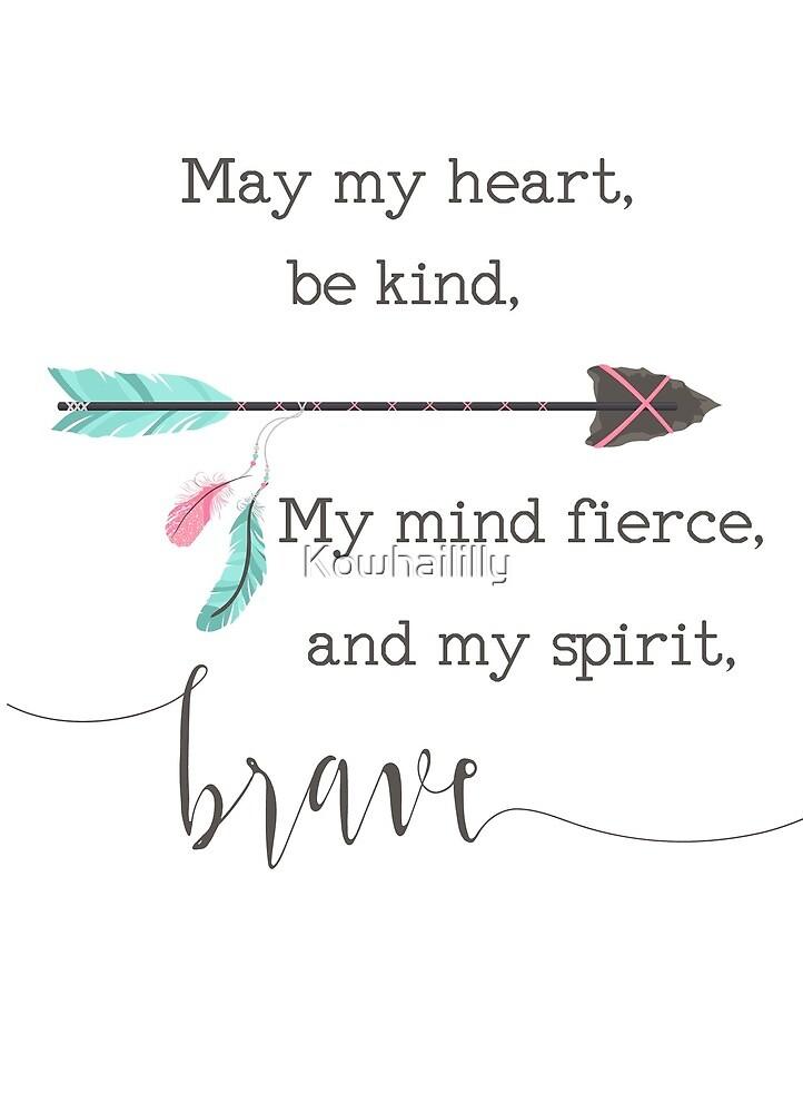 Brave spirit by Kowhaililly