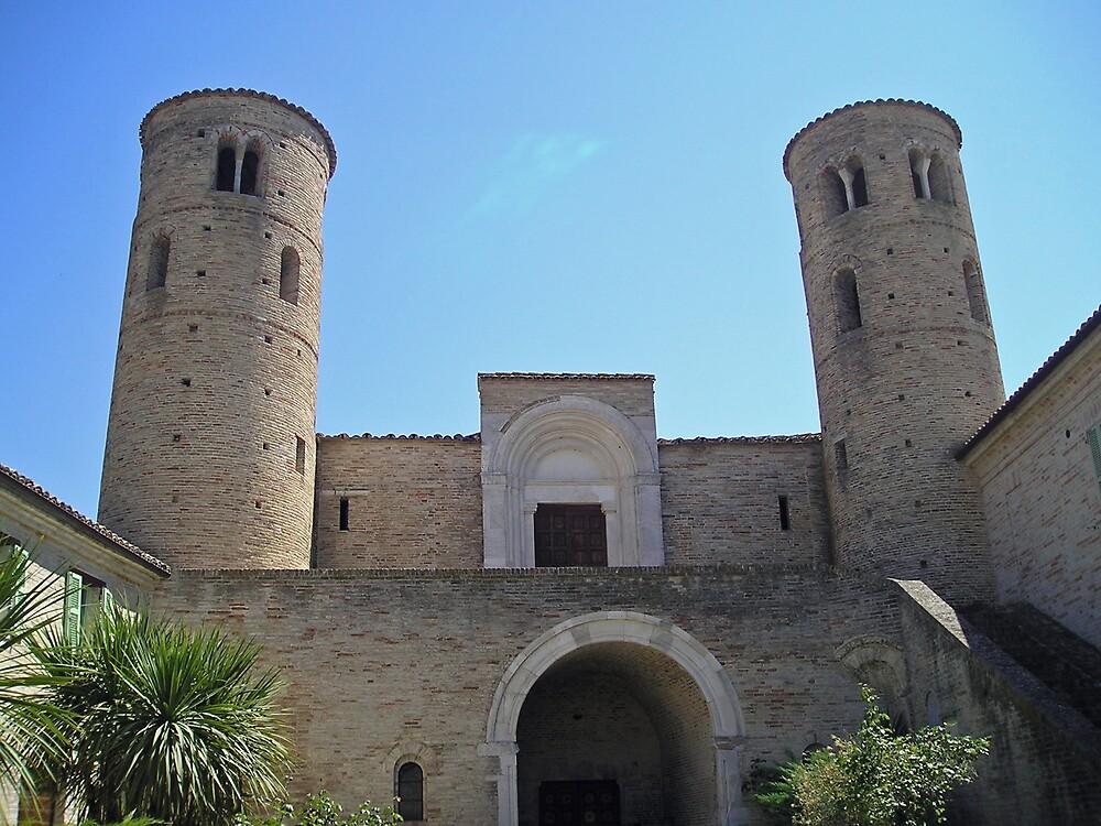 Fortified Abbey of San Claudio (Corridonia- Marche) by presbi