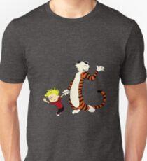 Calvin and Hobbes Dancing Pose Unisex T-Shirt