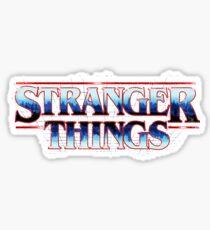 Stranger Things 80s Logo Sticker