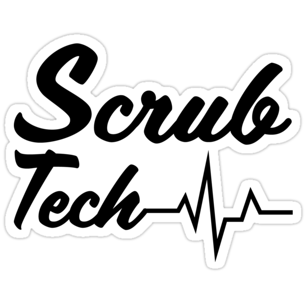 scrub tech stickers by megnance27 redbubble ICU Fun sizing information